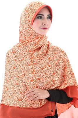 contoh model hijab simple dan praktis 4