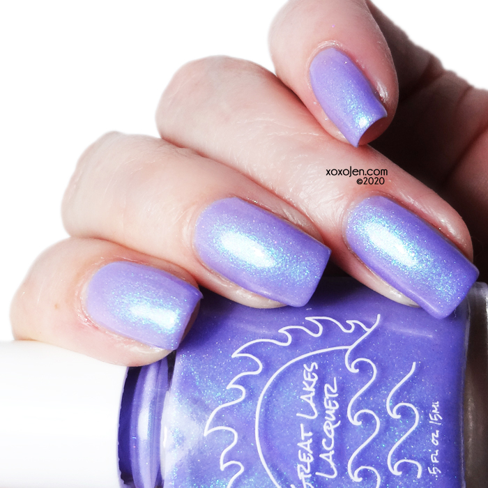 xoxoJen's swatch of Great Lakes Lacquer Change