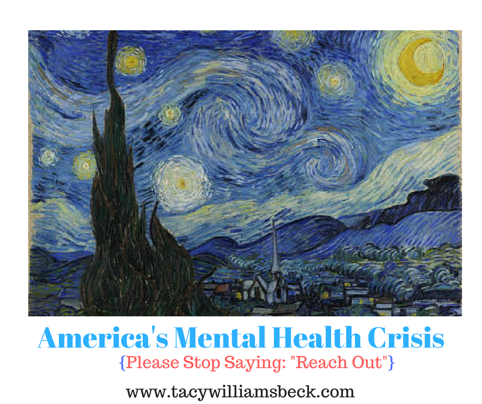 America S Mental Health Crisis Stop Saying Reach Out