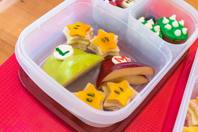 How to Make a Super Mario Bros. Food Art Bento Lunch!