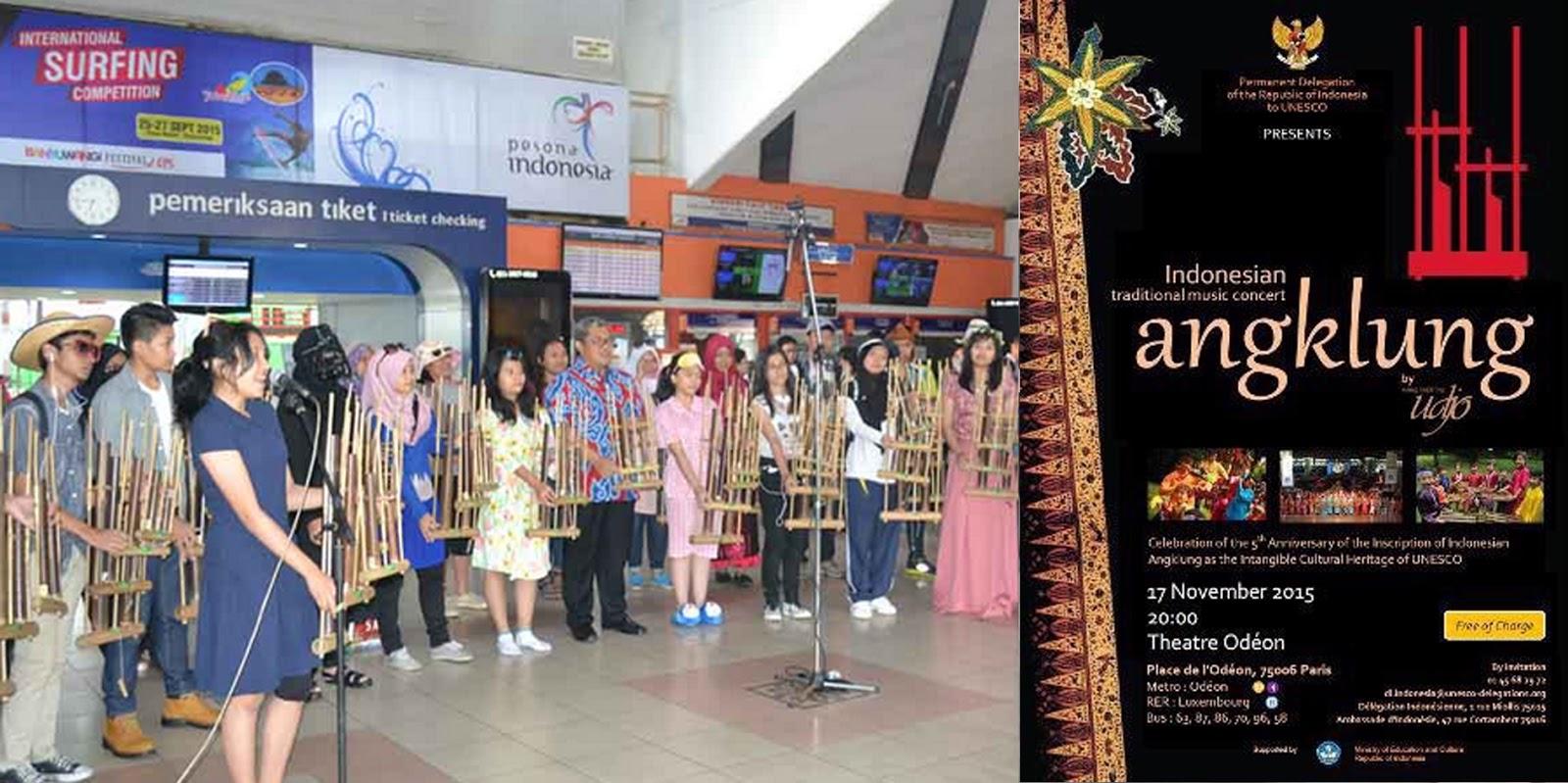 Flashmob Hari Angklung Sedunia 2015