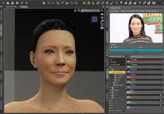 Face Transfer Lucy Liu