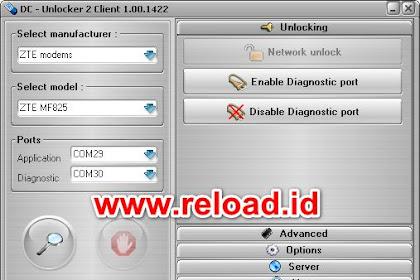 Firmware Unlock ZTE MF825 + File Backup Config & QCN