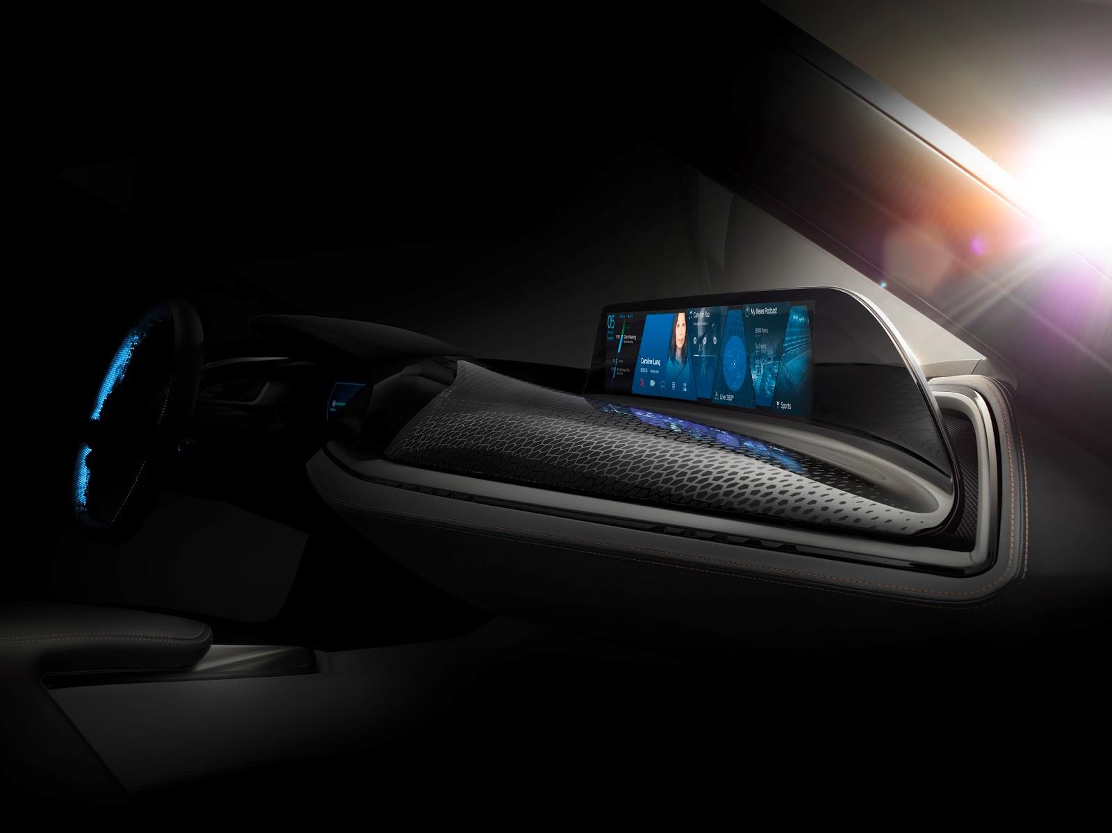 P90206946 highRes bmw group ces 2016 Η BMW παρουσιάζει το σύστημα AirTouch με τεχνολογία οθόνης αφής χωρίς φυσική επαφή. BMW, Τεχνολογία
