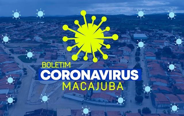 Coronavírus: Veja os dados do boletim desta quarta, em Macajuba