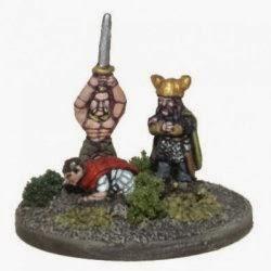 VIG5 Gallic Noble and Warrior Executing a Roman General.
