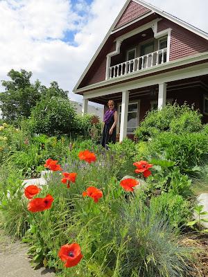 Gardener Carol Bryan