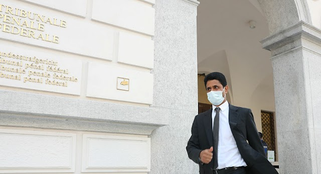 Soccer : Switzerland Calls for 28-Month Jail Sentence for Paris Saint-Germain President in TV Rights Trial