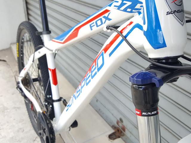 จักรยานเสือภูเขา ล้อ27.5  SUN SPEED FOX