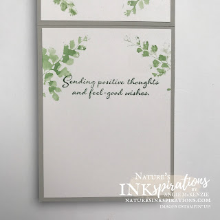 By Angie McKenzie for the Crafty Collaborations Technique Tuesday Blog Hop; Click READ or VISIT to go to my blog for details! Featuring Stampin' Up! Inks with Water Painters, the Positive Thoughts Stamp Set and the Nature's Thoughts Dies from the 2021-2022 Annual Catalog; #getwellcard #stamping #papercrafting #techniquetuesday #techniquetuesdaybloghop #positivethoughts #naturesthoughts #watercoloring #2021annualcatalog #naturesinkspirations #makingotherssmileonecreationatatime #diecutting #cardtechniques #stampinup #diy #handmadecard