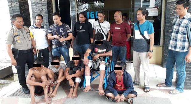 Berusaha Begal Anggota Polisi, 5 Pelaku Langsung Ditangkap