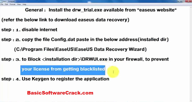 EaseUS Data Recovery Wizard Technician v14.0 Full Version