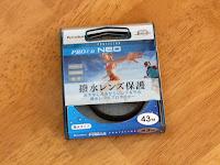 Kenko 43mm 撥水レンズフィルター PRO1D プロテクター NEO + RICOH GH-2 アダプター + GR Digital3