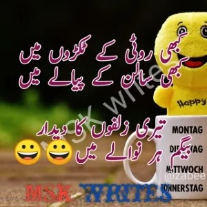 Poetry In Urdu Funny