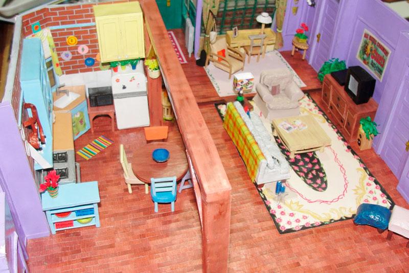 Miniatura Apartamento Friends