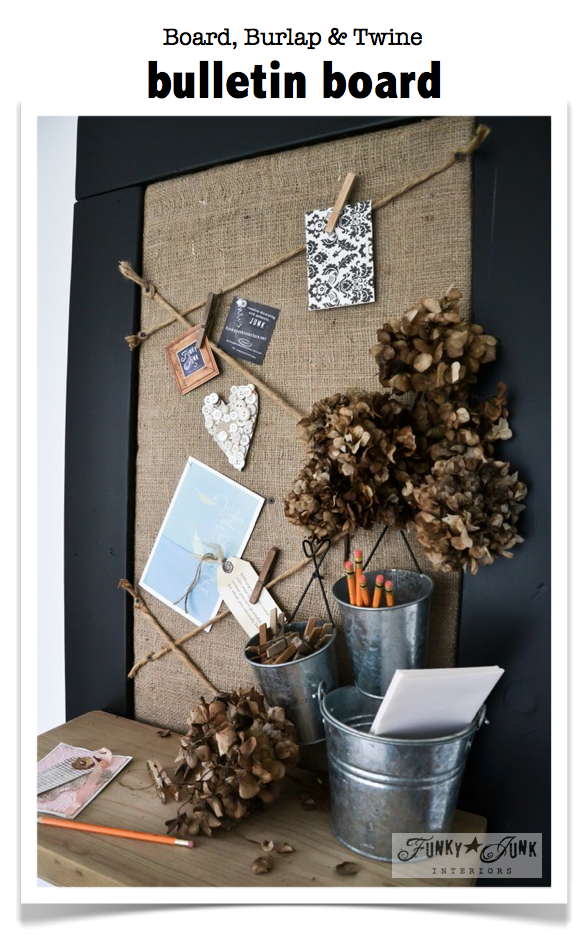 diy pin bulletin board