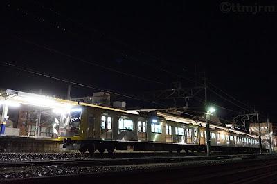 坂戸駅停車中の東急5050系Shibuya Hikarie号を使ったみなと横浜 初日の出号