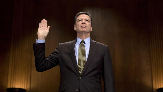 Ousted FBI Director James Comey to testify in 'open session' of Senate Intelligence Committee
