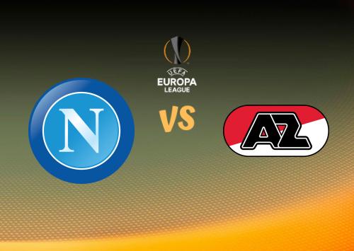 Napoli vs AZ Alkmaar  Resumen y Partido Completo