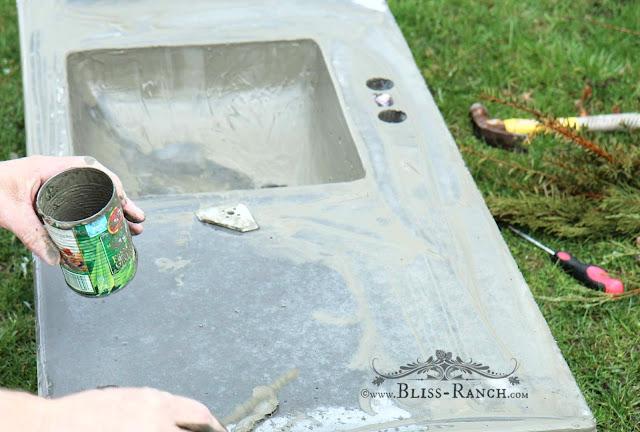 Concrete Bathroom Vanity, BLiss-Ranch.com