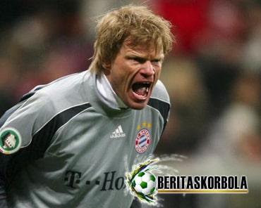 Profil Oliver Kahn, Kiper Setia Bayern Muenchen Dari Karlsruhe