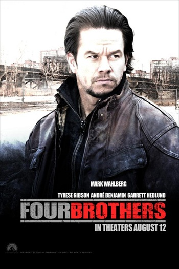 Four Brothers 2005 Hindi Dubbed 720p DVDRip 800mb