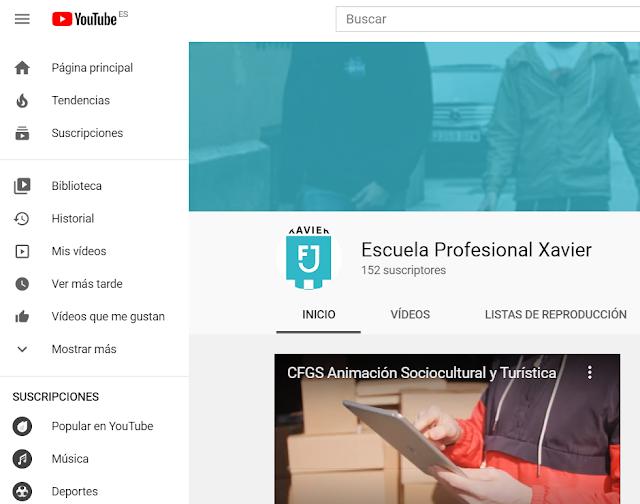 youtube fp alumnas formación profesional webinar