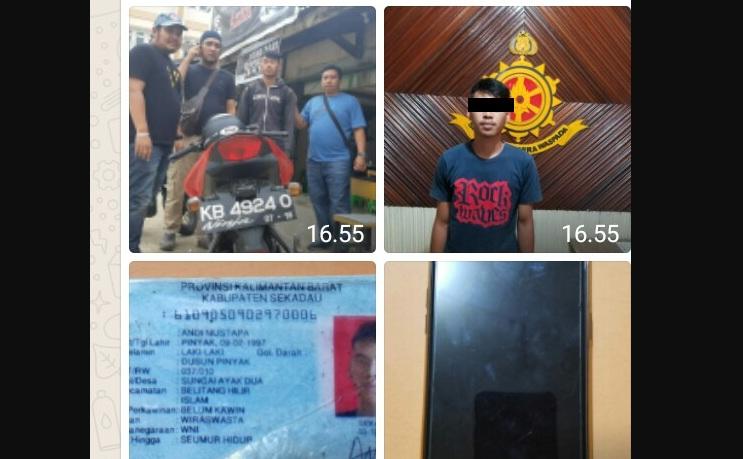 Seorang Pemuda Pemilik Akun Facebook Atas Nama
