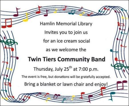 7-25 Community Band, Smethport