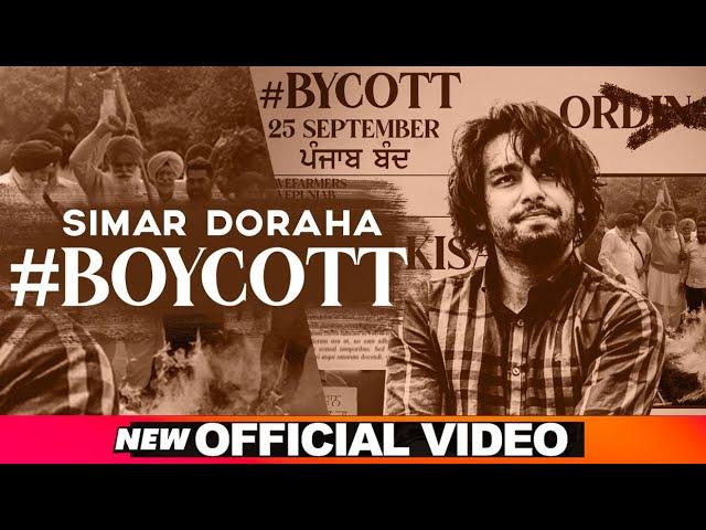 Boycott Song Lyrics | Simar Doraha | Black Virus | Latest Punjabi Songs 2020 | Speed Records Lyrics Planet
