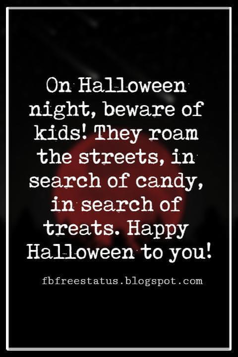 Halloween Messages, Happy Halloween Message,