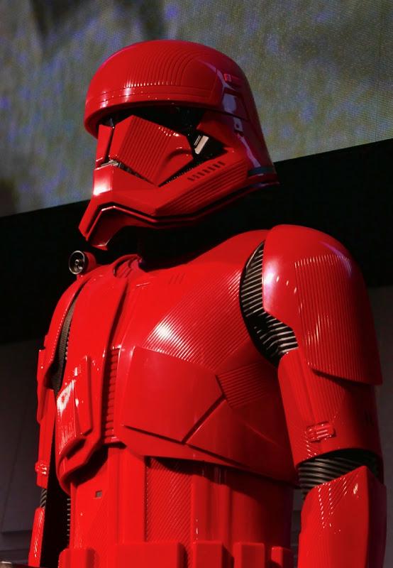 Star Wars Rise Skywalker Sith Trooper costume helmet