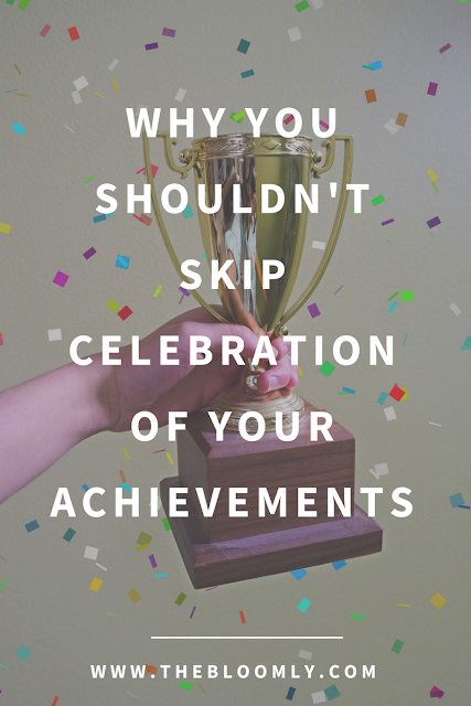 Why You Shouldn't Skip Celebration of Your Accomplishments
