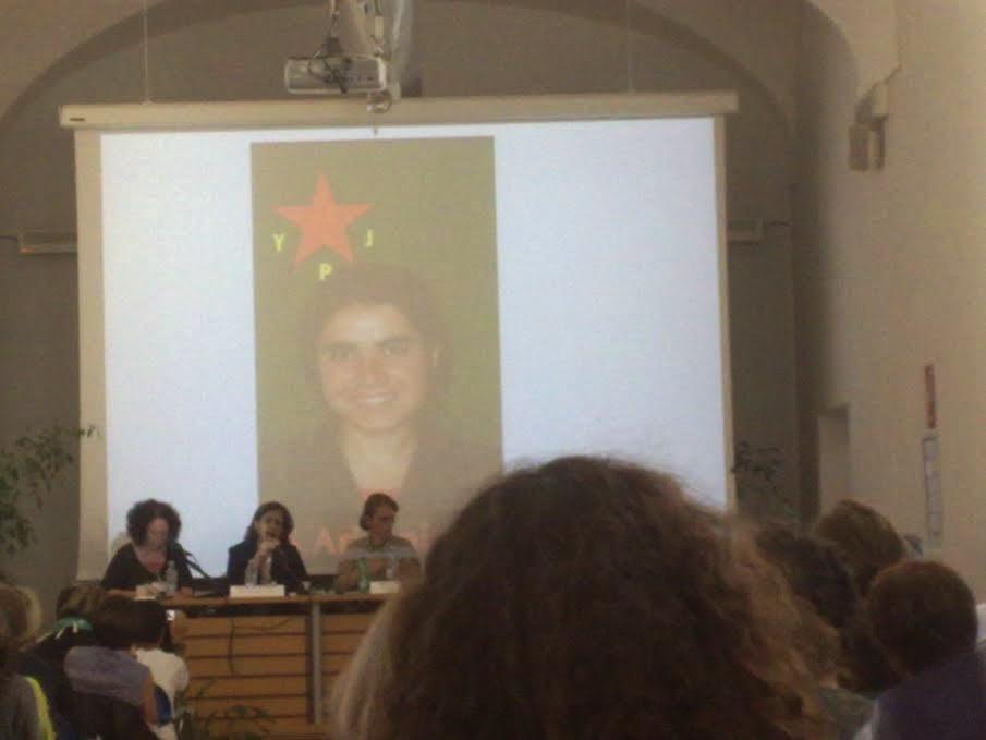 report convegno donne kurde a roma da femminismorivoluzionario  Pennataglientes Blog