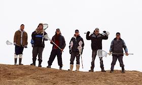 Inuit lacrosse team