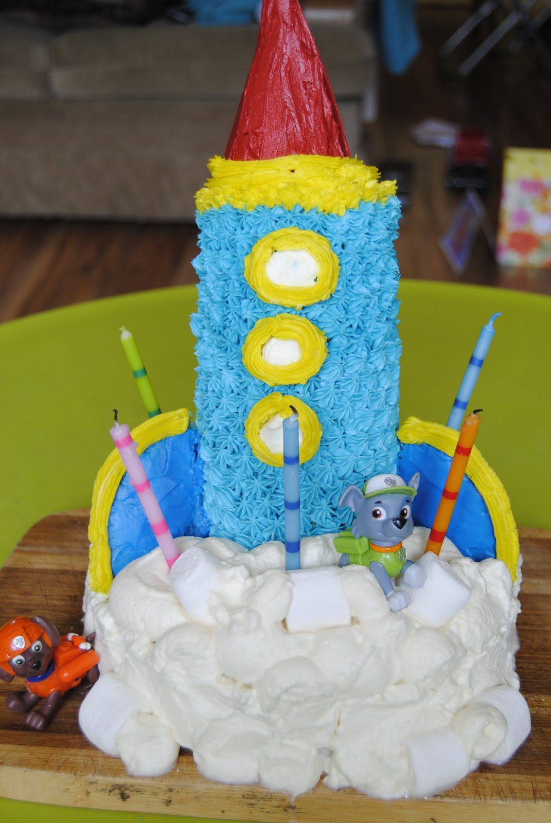 I Loved Making This Cake For My Little Superboy Turned 5 And Just Like ALL OTHER HUMANS Of Age Under Saying He Adores Paw Patrol Would Be