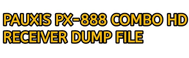 PAUXIS PX-888 COMBO HD RECEIVER DUMP FILE