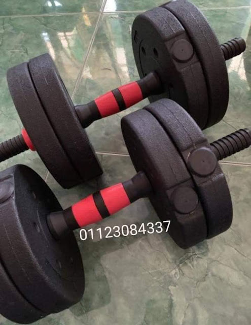 adjustable dumbell set 20kg