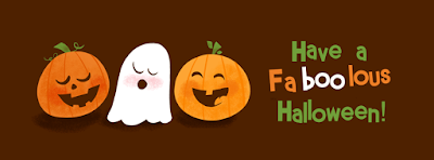 cute happy halloween facebook cover 2016