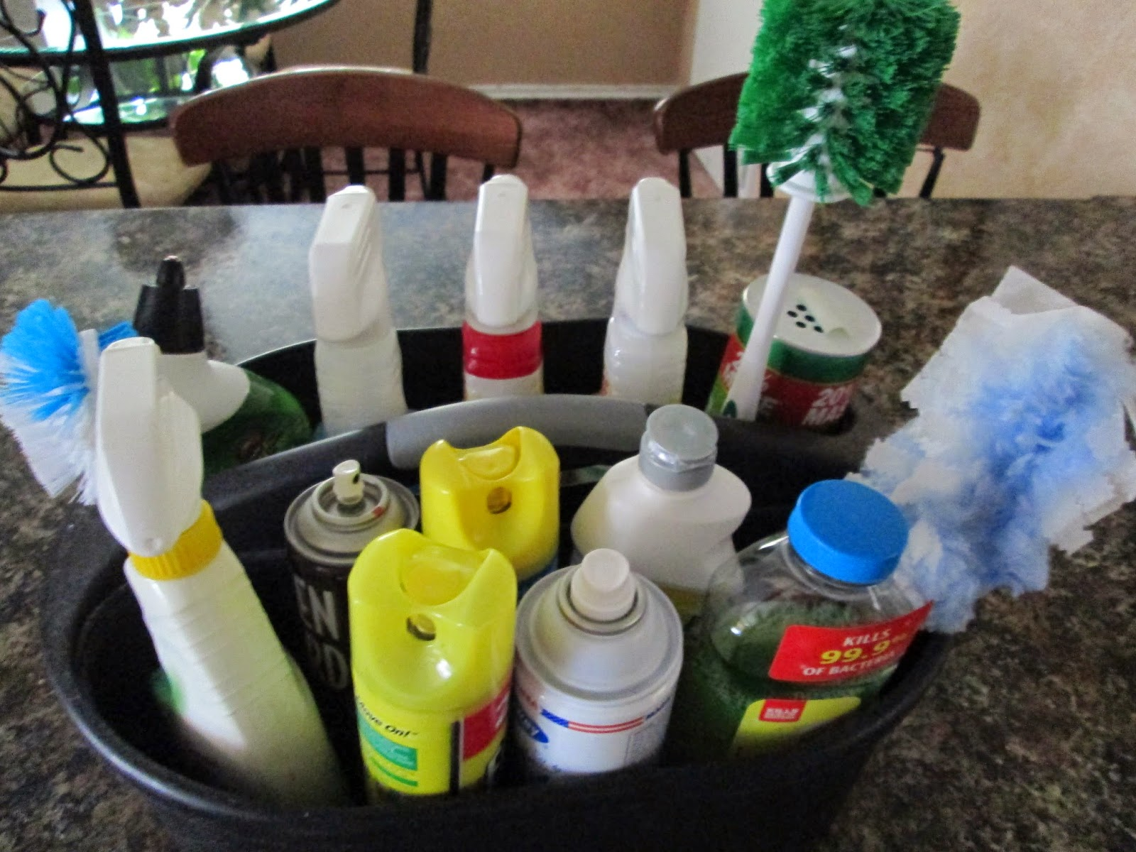 Happy Clean Living Update Cleaning Supplies I Use In My