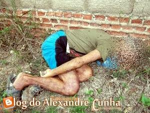 Notícia urgente! Encontrado cadáver em frente ao cemitério da Aparecida em Chapadinha.