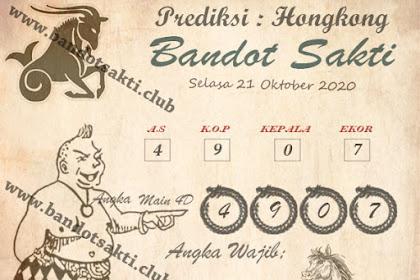 Syair Bandot Sakti Togel Hongkong Rabu 21 Oktober 2020