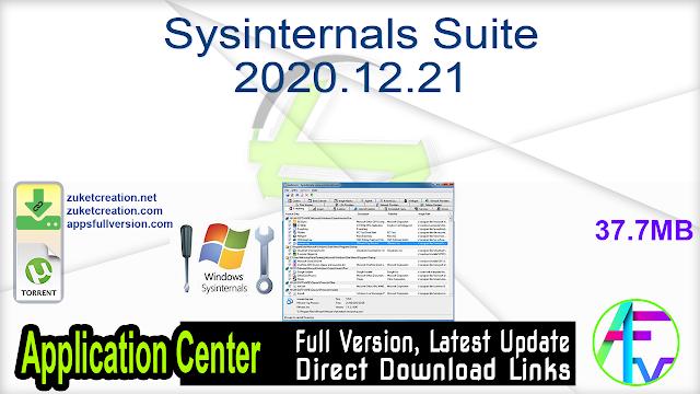 Sysinternals Suite 2020.12.21