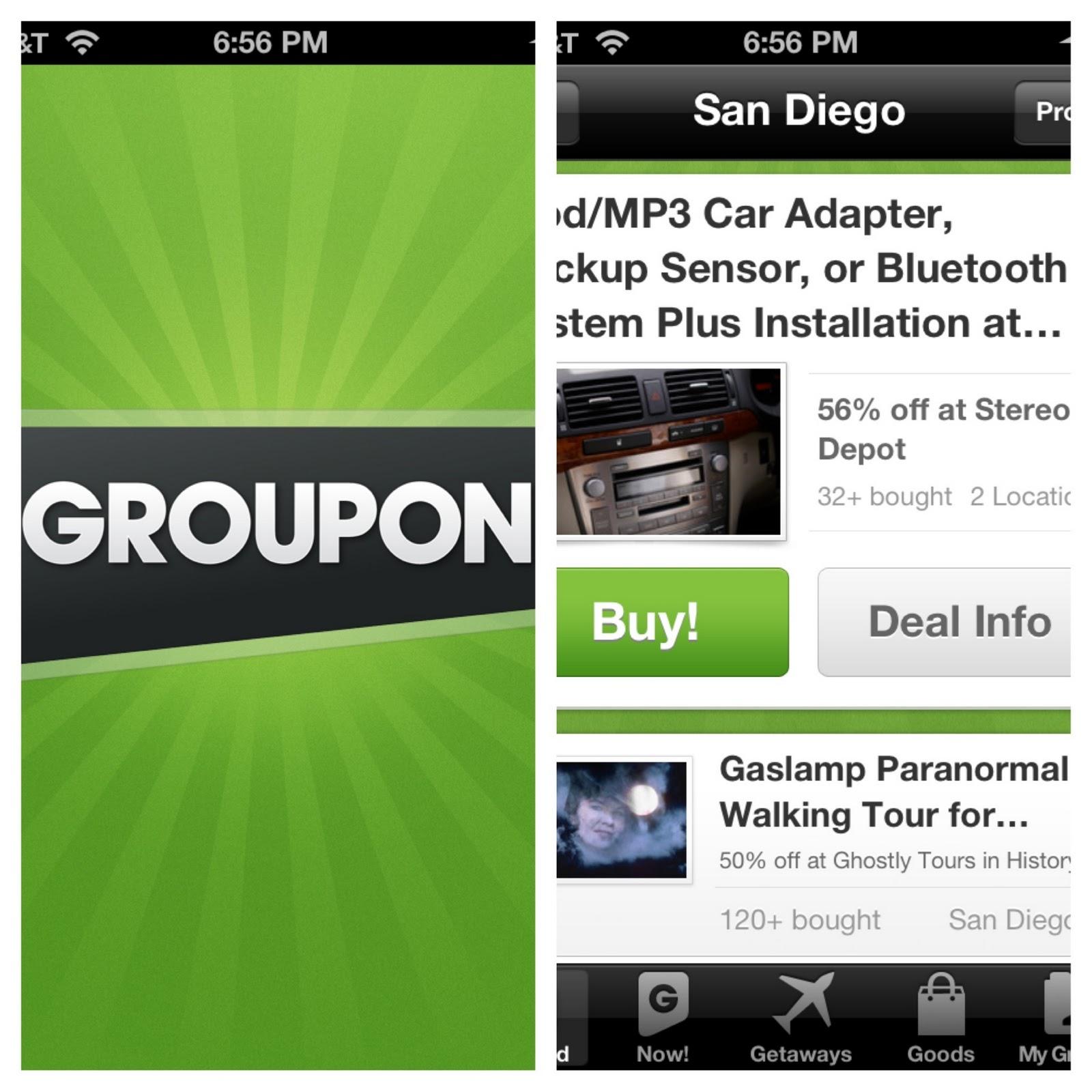 Groupon: Go Mobile Get $5 Bucks - Drugstore Divas