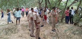 संदिग्ध परिस्थितियों में पेड़ की डाल से लटकता मिला युवक का शव | #NayaSabera