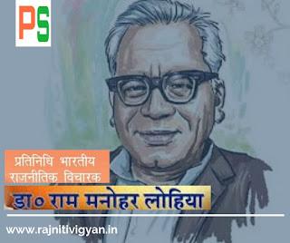 राम मनोहर लोहिया के राजनीतिक, सामाजिक, आर्थिक विचार, लोकतंत्र पर लोहिया के विचार,