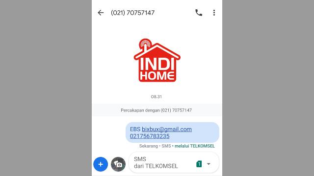 Cek Tagihan Wifi Melalui SMS atau Telepon