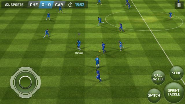 تحميل لعبة FIFA 2014 باتش FIFA 2017 للأندرويد اخر اصدار (تعمل اوفلاين)