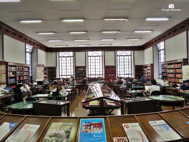Vista da Biblioteca da Faculdade de Direito da USP - Centro - São Paulo