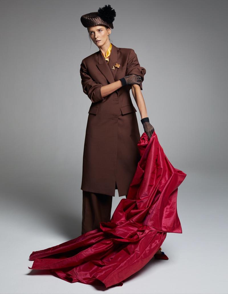 Xavi Gordo for Harper's Bazaar Spain with Carmen Kass